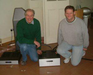 Jim White of Aesthetix and Ivan Kursar of Cool Gales