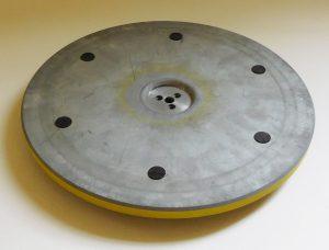 Thorens TD124 platter